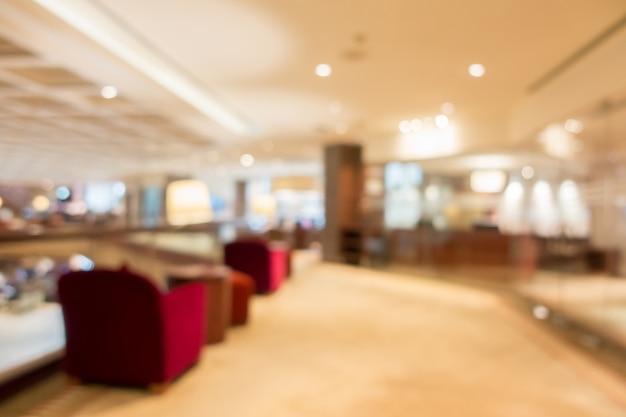 Abstract blur lobby Free Photo