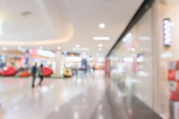 추상 흐림 현대 쇼핑몰 인테리어 Defocused 배경 프리미엄 사진