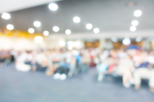 Abstract blur passenger in the airport . Premium Photo
