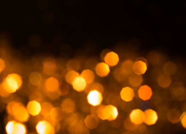 Abstract blurred bokeh background  lens flare, holiday theme