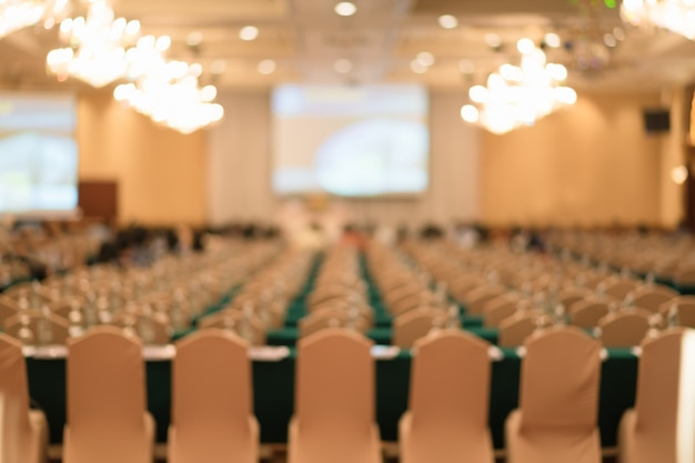 Abstract blurred people in seminar or event for background Free Photo
