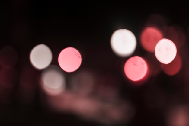 Abstract bokeh city light background Free Photo