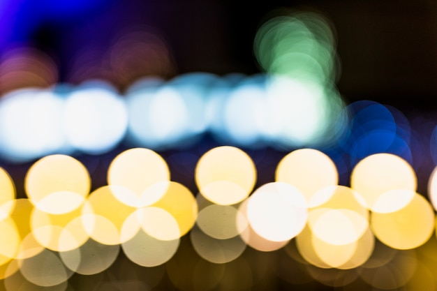 Abstract of bokeh light background Free Photo