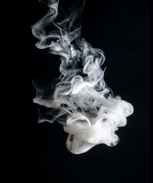 Abstract bright and beautiful color smoke Premium Photo
