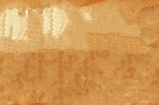 Абстрактный фон текстуры коричневой бумаги. Premium Фотографии