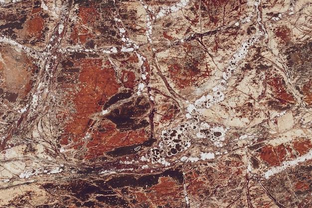 Абстрактная коричневая картина мраморной плиты. плитка поверхность пола. Premium Фотографии