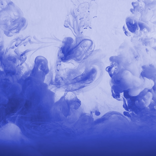 Abstract cloud of haze in blueness Free Photo
