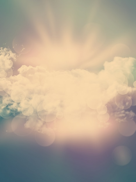 Abstract clouds Free Photo