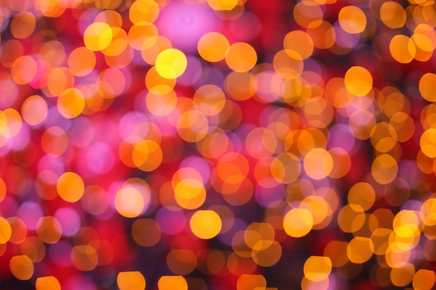 Abstract colorful defocused circular facula,abstract background Premium Photo