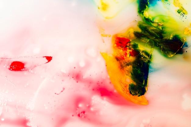 Абстрактная цветастая текстура краски воды Бесплатные Фотографии