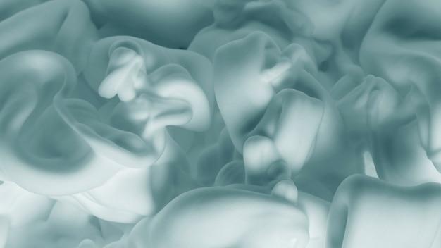 Abstract creamy white foam pattern background Free Photo
