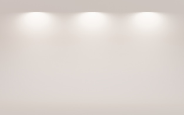 Abstract dark grey with white gradient background wallpaper empty studio room used for display product ad website template, 3d illustration Premium Photo
