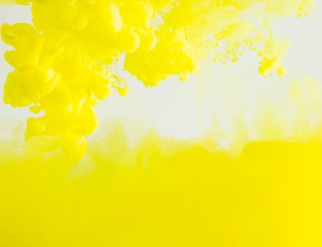 Abstract dense yellow cloud of haze Free Photo