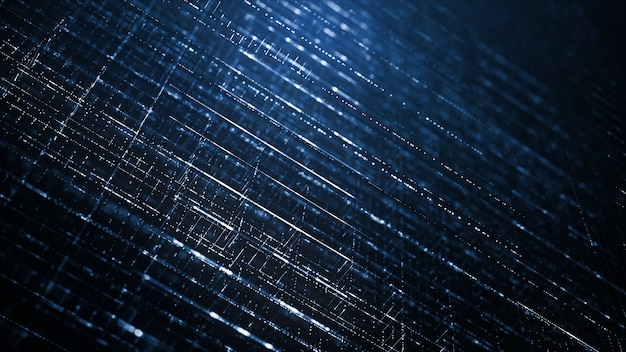 Abstract digital technology background Premium Photo