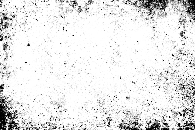 Abstract dirty or aging frame. dust particle and dust grain texture or dirt overlay use effect for frame with space for your text or image and vintage grunge style. Premium Photo