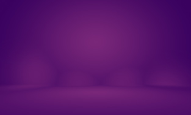 Abstract empty light gradient purple studio room background for product. Premium Photo