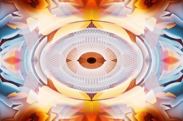 Abstract eye Free Photo