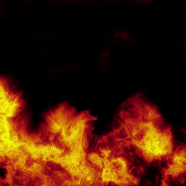 Abstract fire background Free Photo