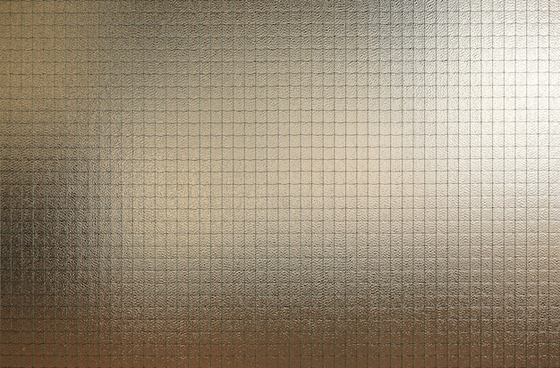 Abstract glass with wire grid texture background Premium Photo