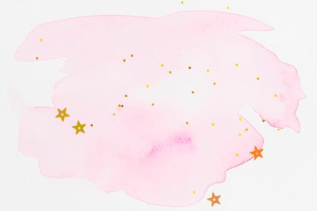 Абстрактные блестящие розовые акварельные текстуры обои Бесплатные Фотографии