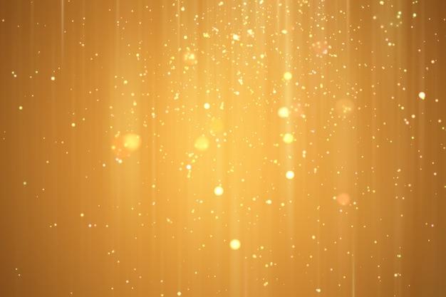 Abstract golden xmas festive background. Premium Photo