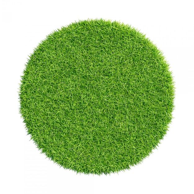 Abstract green grass texture Premium Photo