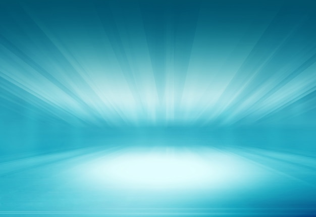 Abstract ground with light rays effect background Premium Photo