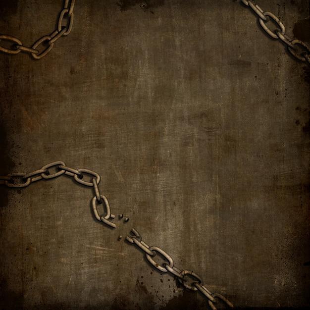 Broken chain wallpaper