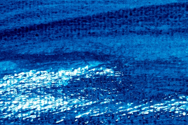 Abstract grunge blue watercolor hand painting background for decoration. Premium Photo
