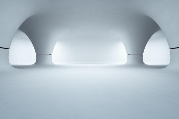 Phenomenal Abstract Interior Design Of Showroom With Empty White Floor Download Free Architecture Designs Scobabritishbridgeorg