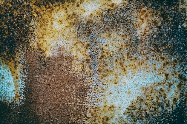 Abstract iron textures with multicolored texture Premium Photo