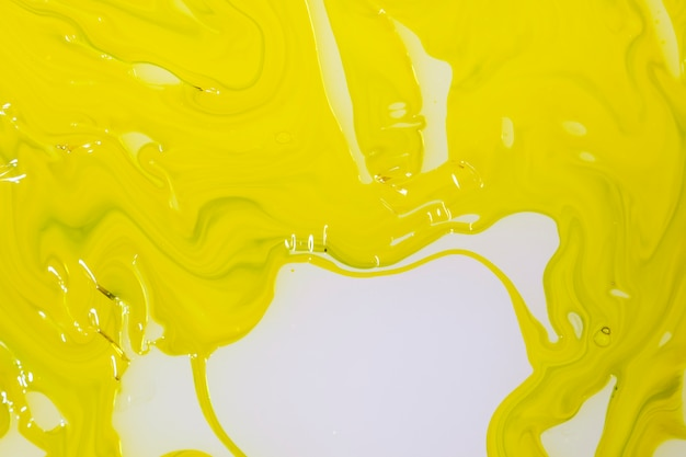 Abstract layer of mustard oil Free Photo