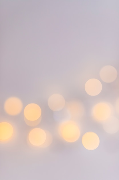 Abstract lights on grey background Free Photo