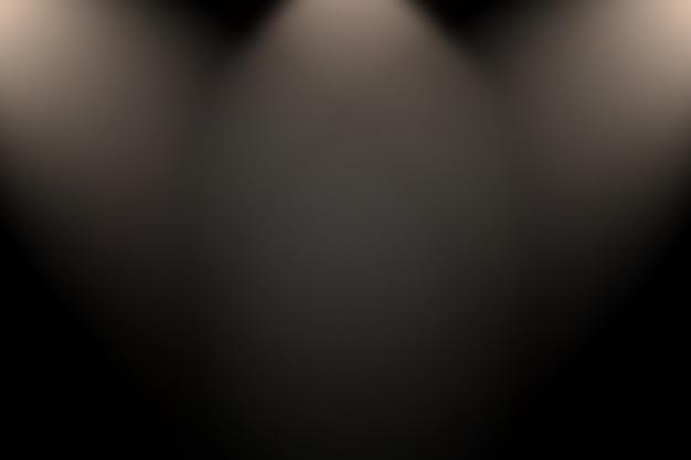 Abstract luxury blur dark grey and black gradient Premium Photo