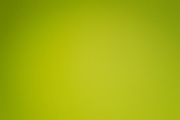 抽象的な贅沢なグラデーションライトグリーン。黒のビネットスタジオを備えた滑らかなライトグリーン。 Premium写真