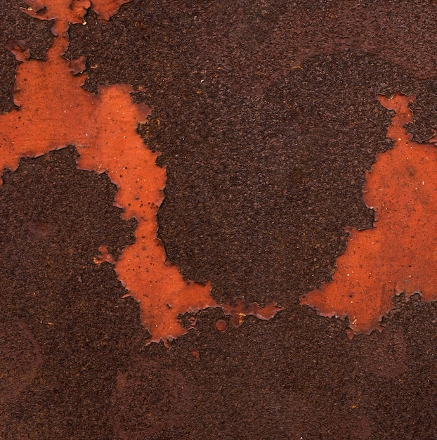Abstract metallic surface with rust Free Photo