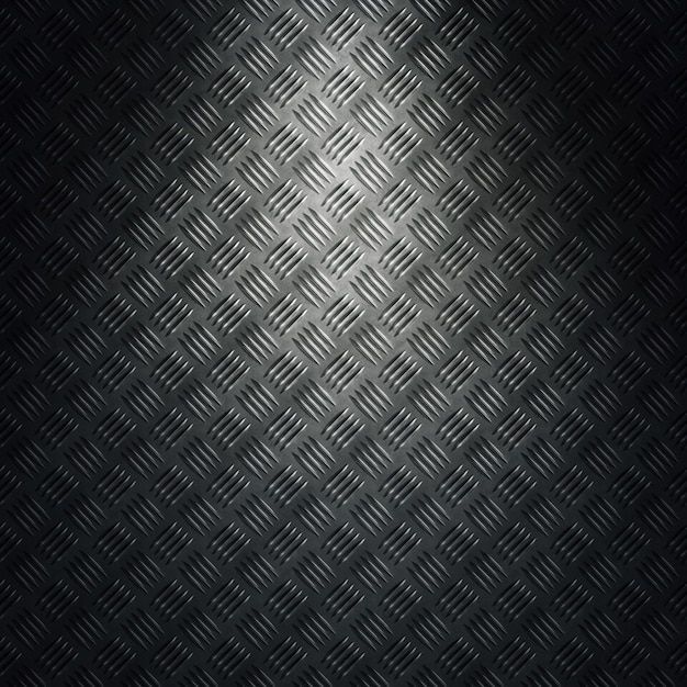 Abstract modern grey diamond metal texture, sheet with directional light. material design for background, wallpaper, graphic design Premium Photo