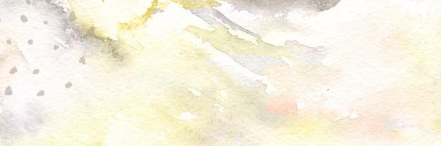 디자인, 배너 커버 스타일에 대 한 골드 반짝이 질감 배경으로 추상 현대 수채화 프리미엄 사진