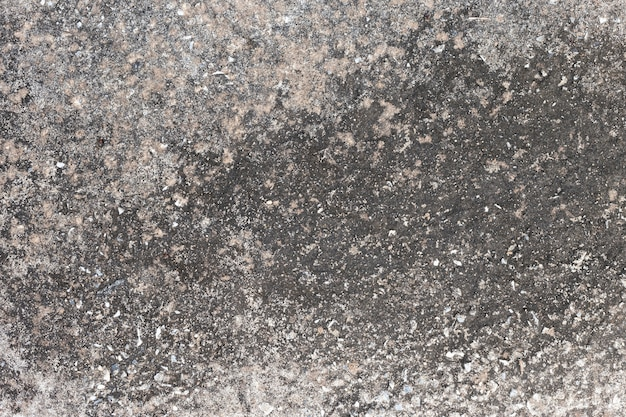 Abstract old dirty dark cement wall background on ground texture. Premium Photo