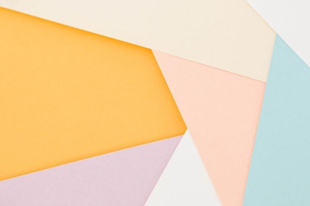 Абстрактная бумага красочный фон Premium Фотографии