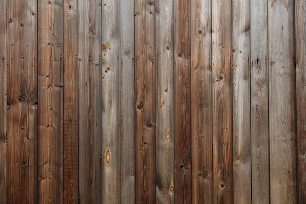 Abstract pattern of dark old wooden wall Premium Photo