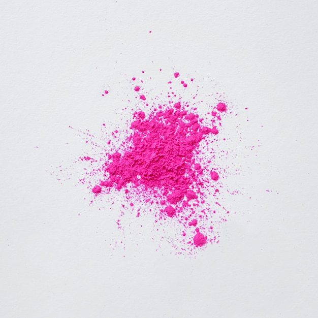 Abstract pink dust explosion Free Photo