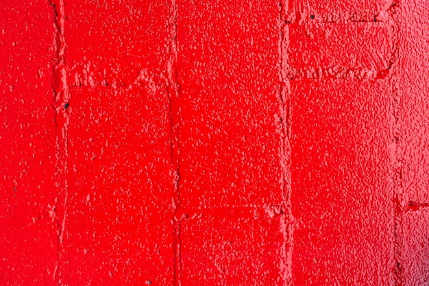 Abstract red brick wall background Free Photo