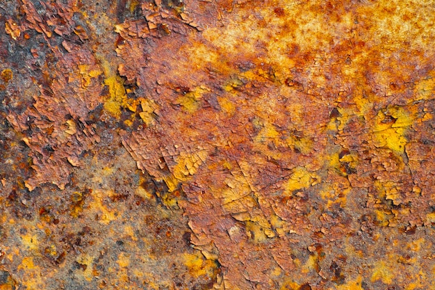 Abstract rusty metal texture, background Premium Photo