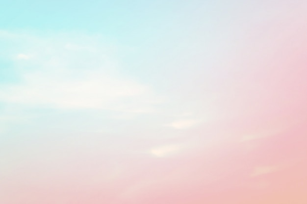 Abstract sky background in sweet color. Premium Photo