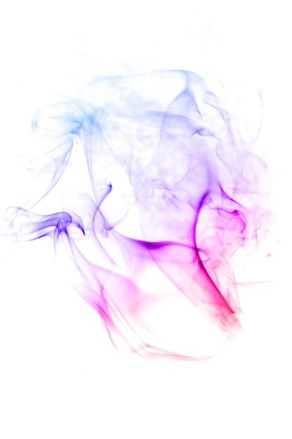 Абстрактный дымный фон Premium Фотографии