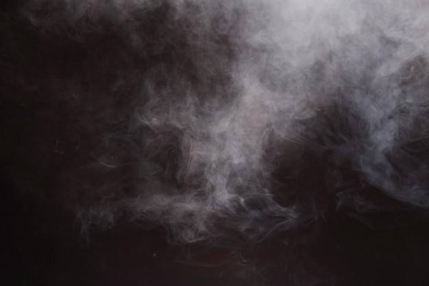 Abstract smoke clouds background, all movement blurred Premium Photo
