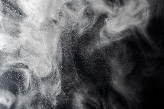 Abstract smoke and fog background Premium Photo