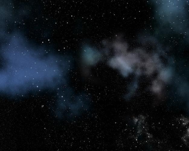 성운과 별과 추상 공간 배경 무료 사진