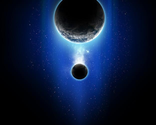 Абстрактная космическая сцена Бесплатные Фотографии
